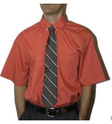 Porter une chemise manche courte
