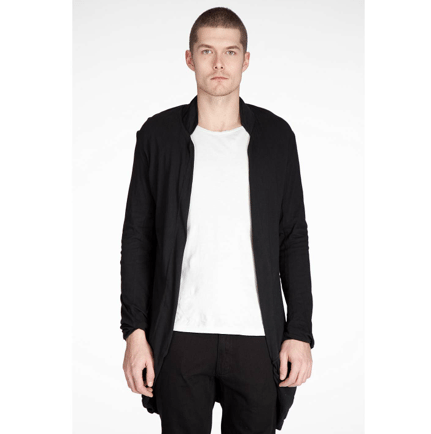 cardigan homme ouvert
