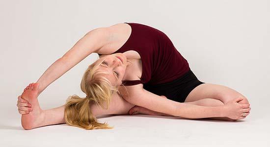 yoga femme seduction faire homme sport