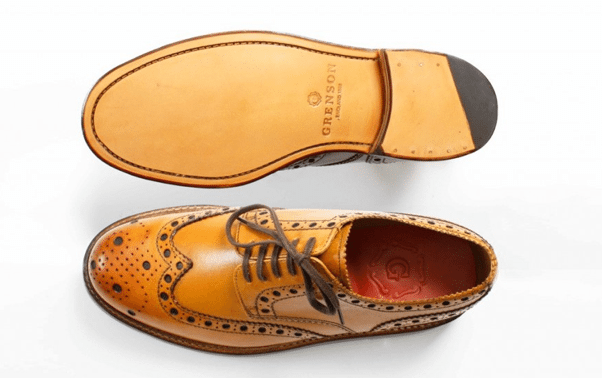 chaussures marrons homme