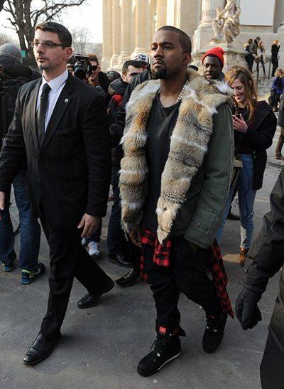 Kanye west exhubérant
