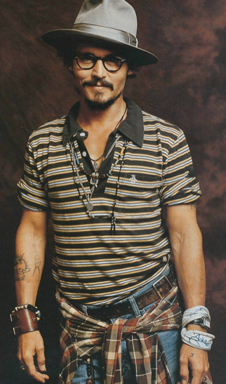 johnny depp chapeau