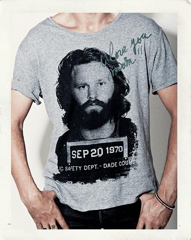 t-shirt bel imprimé