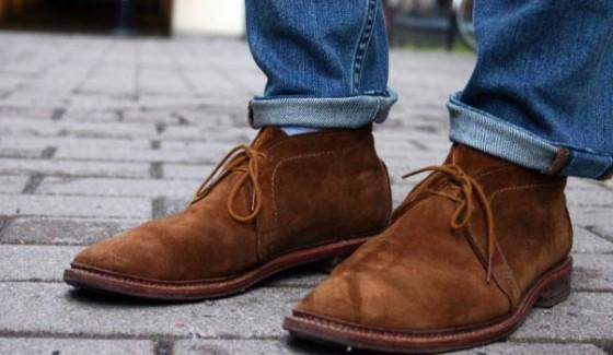 desert boots suede