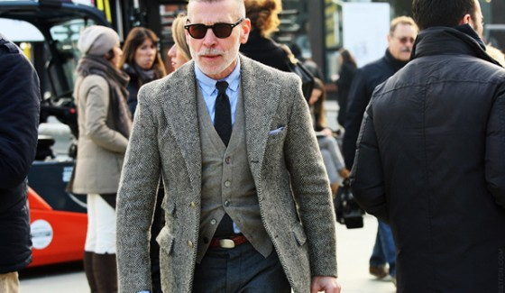 veste tweed nick wooster