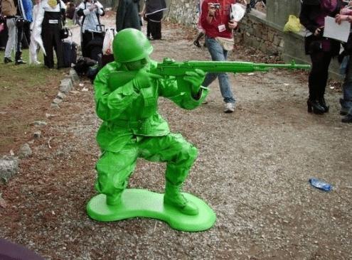costume soldat de plomb