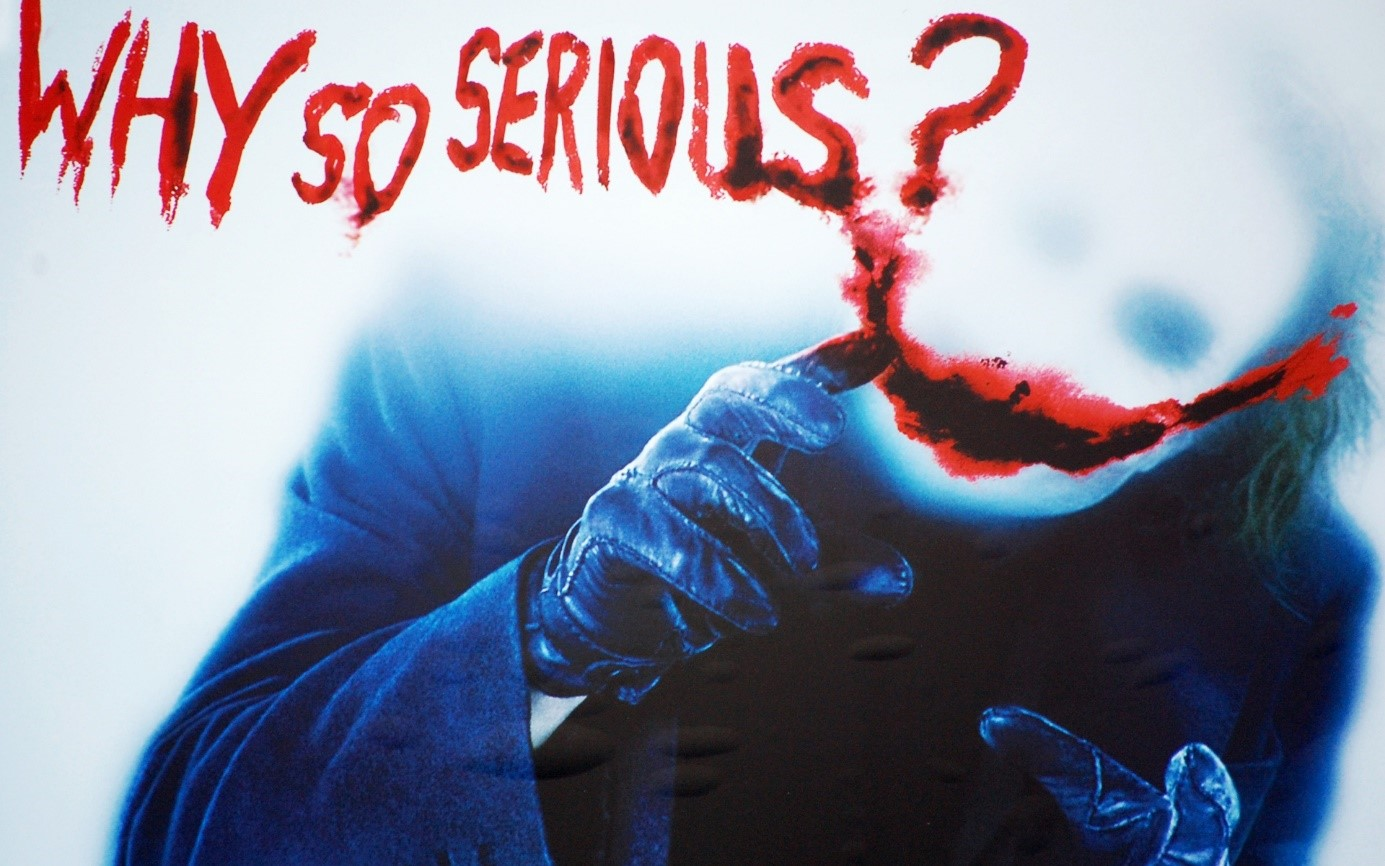 why so serious Le Carnet Secret du Coach : La Ligne De Conduite