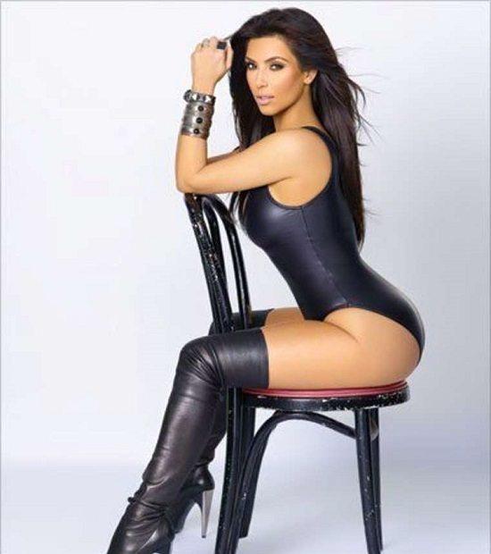 Kim Kardashian sexy shooting
