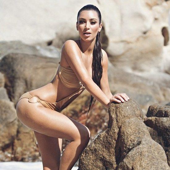Maillot de bain sexy Kim K