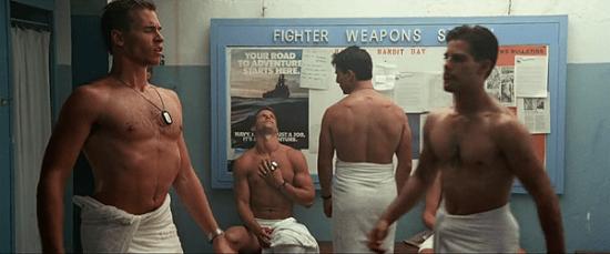 Top Gun produits beauté hommes