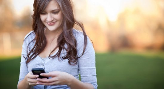 Exemples sms filles