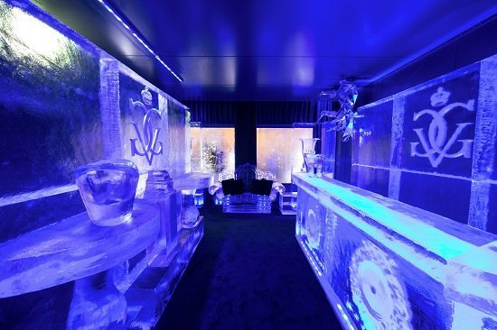 Premier rendez-vous Paris Ice Lounge