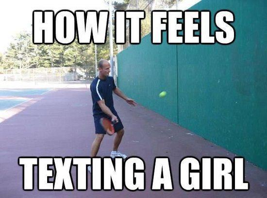 elle ne répond pas aux textos
