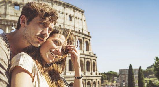 destination vacances couple
