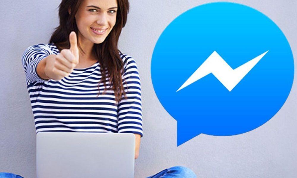 draguer une fille qu'on ne connaît pas sur Messenger Facebook