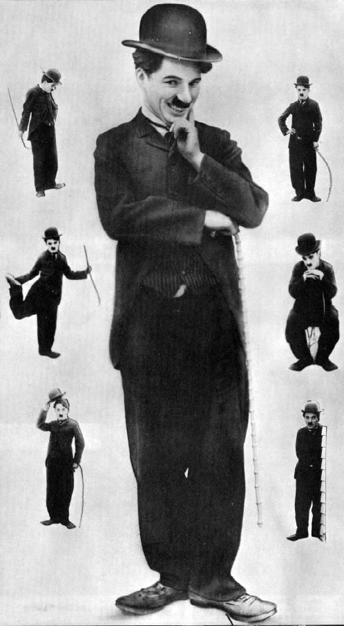 charlie chaplin body language