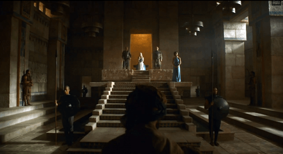 Dany throne Mereen