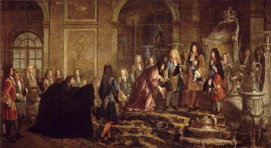 Louis XIV trône Versailles