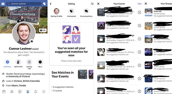 Facebook-Dating-App
